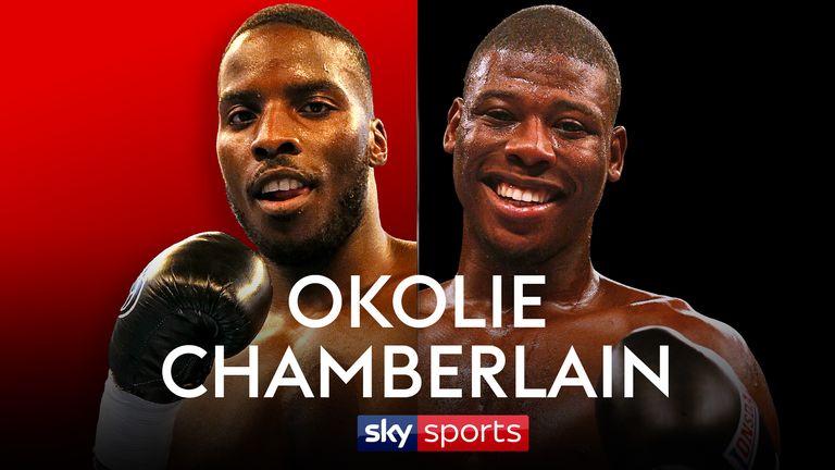 Okolie vs Chamberlain is live on Sky Sports on February 3