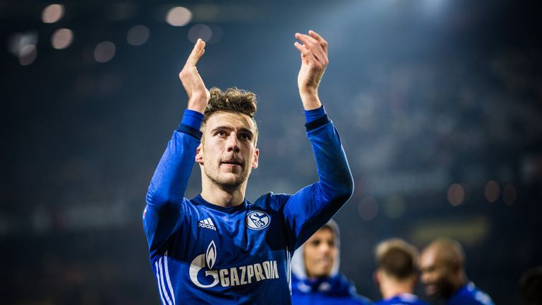 Leon Goretzka is out of contract this summer