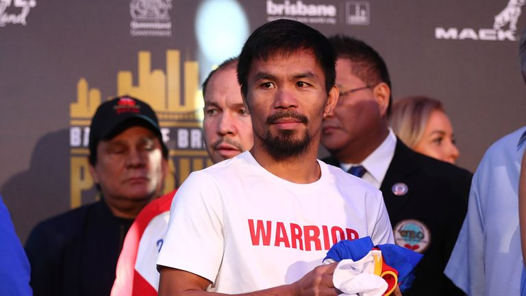 Former gym-mate Manny Pacquiao remains one of the biggest stars in boxing