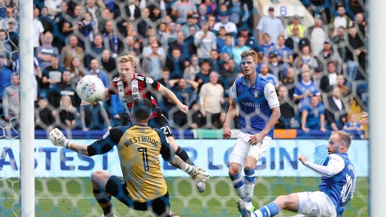 Just moments after Lucas Joao equalised for Sheffield Wednesday, Mark Duffy put Sheffield United back in front with a fine solo goal