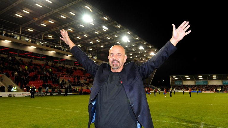Koukash linked up with Salford in January 2013
