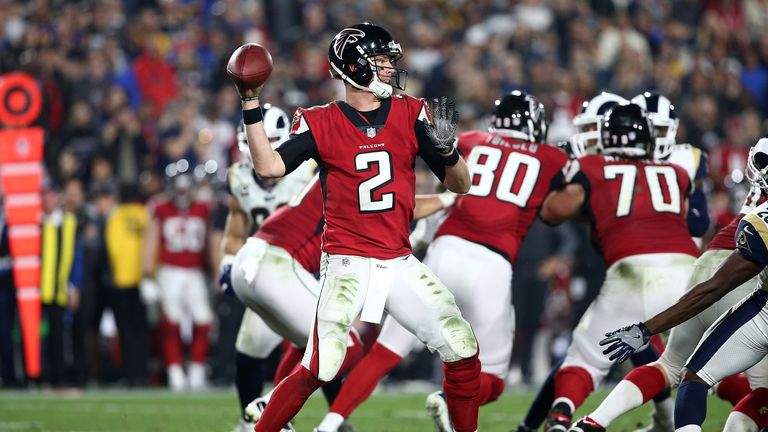 Matt Ryan was brilliant at QB as the Atlanta Falcons got the better of the Los Angeles Rams