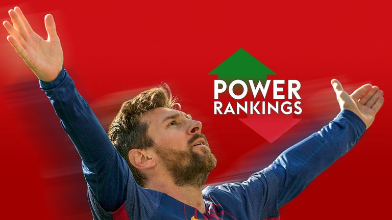 barcelona u0026 39 s lionel messi tops sky sports la liga power rankings after clasico win at real madrid