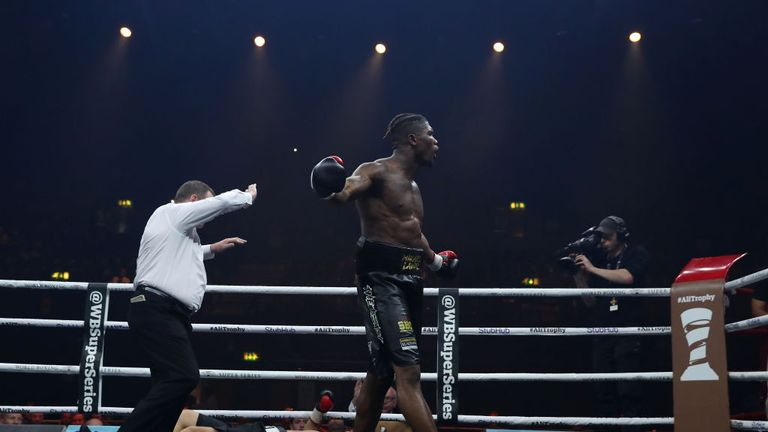 Mikael Lawal's last outing saw him win in two rounds