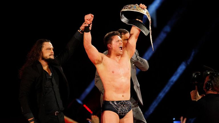 The Miz reclaimed his Intercontinental title from Roman Reigns on Raw this week