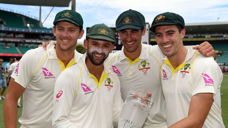 England were no match for Australia's bowling attack across the five Tests