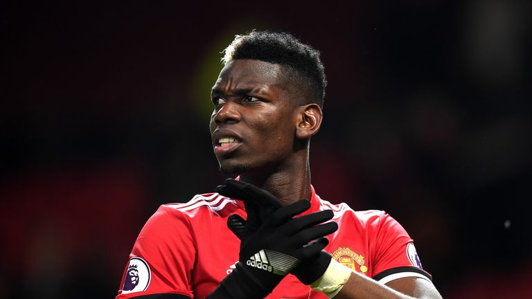 Paul Pogba missed Manchester United's last game with illness