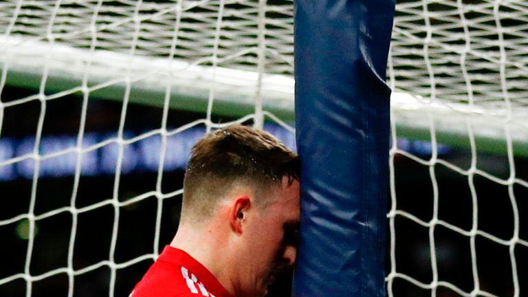 Phil Jones' own goal put Tottenham 2-0 ahead