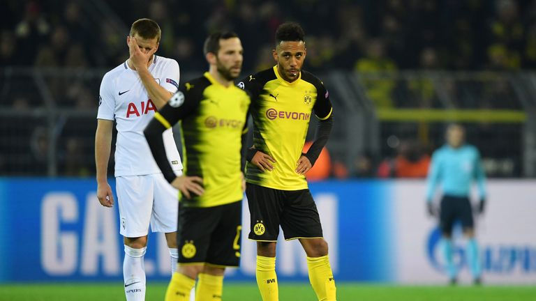 Aubameyang was left out of the Dortmund squad for their match against Wolfsburg on Sunday for disciplinary reasons