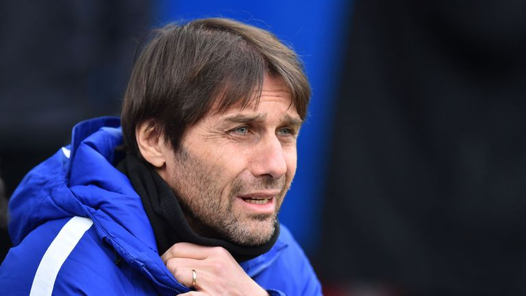 Antonio Conte is preparing for Wednesday's game against Bournemouth with Batshuayi