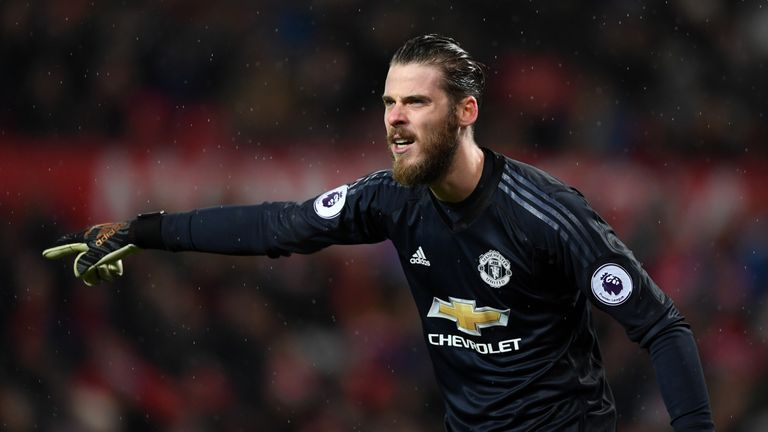 David de Gea has an option to extend his current contract, which expires in 2019, for a further 12 months