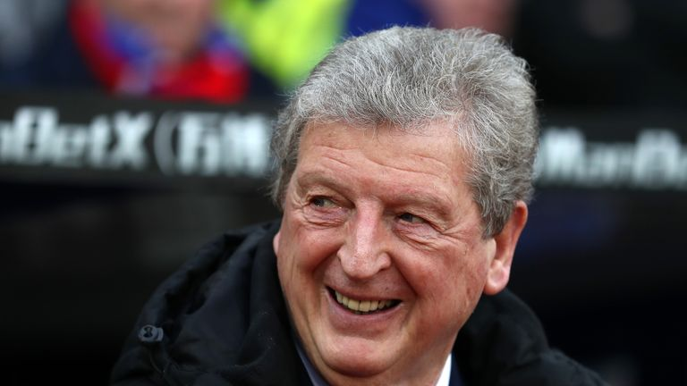 Hodgson believes De Boer's comments are a 'positive' for Palace