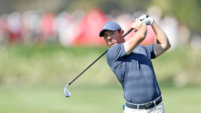 Rory McIlroy is just three off the lead going into the weekend