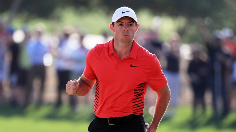 Rory McIlroy looked fit and healthy on his return to action in Abu Dhabi