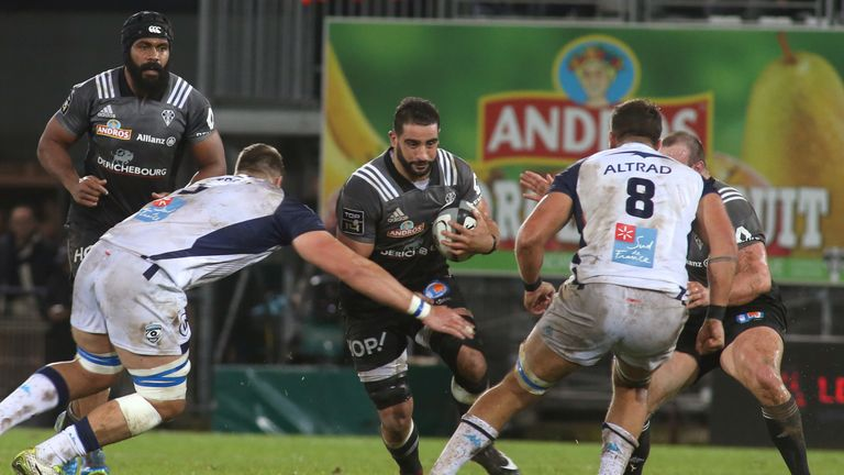 Brive's Algerian flanker Said Hireche was magnificent in their surprise win over Montpellier