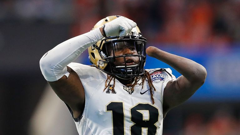 Shaquem Griffin's left hand was amputated when he was four-years-old