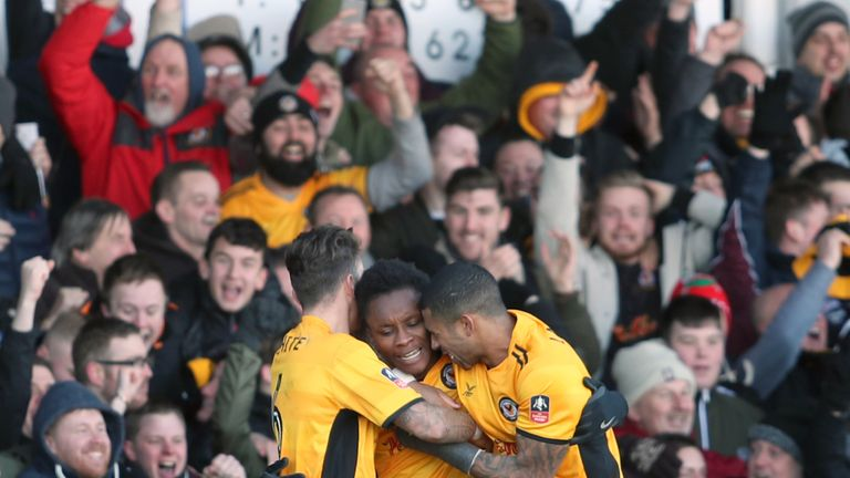 Newport County's reward for beating Leeds is a home tie against Tottenham