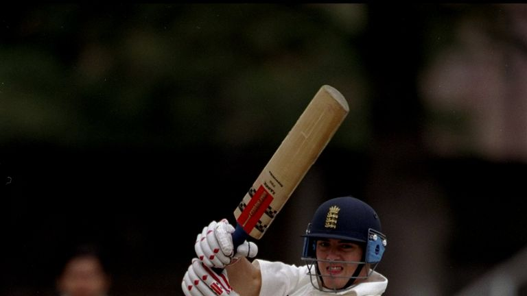 Stephen Peters scored a hundred in the 1998 final