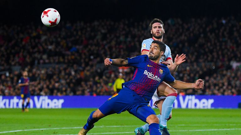 Luis Suarez is expected to return to Barcelona's starting line-up