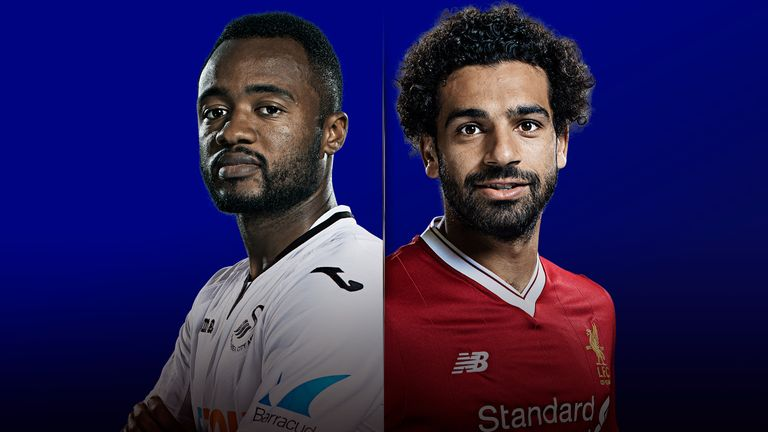 Swansea v Liverpool is live on Sky Sports on Monday