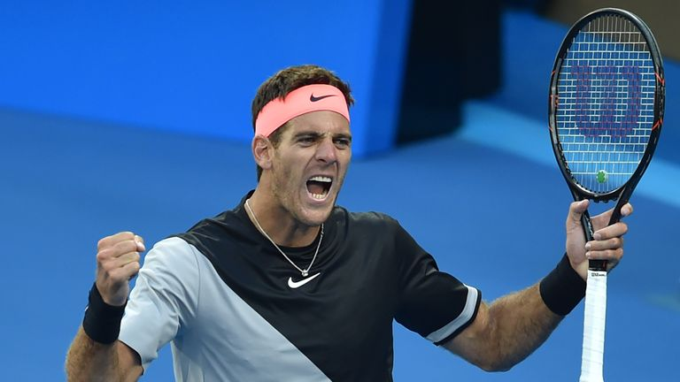 Juan Martin del Potro is one of Mark Petchey's picks this week