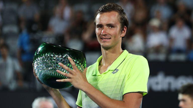 Daniil Medvedev ended Alex de Minaur's hopes to win a thrilling Sydney International final