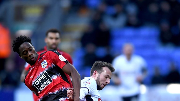 Terence Kongolo produced a solid display in a Huddersfield shirt for the first time