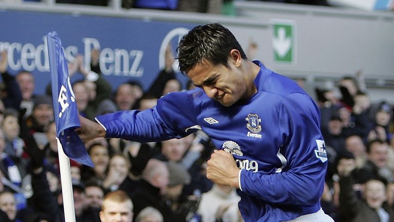 Cahill's most successful spell in England came with Everton in the Premier League