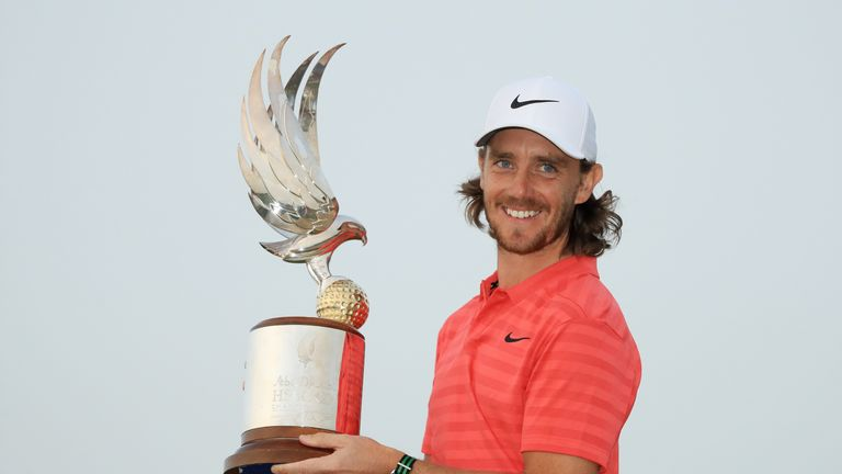 Fleetwood is going for a hat-trick of Abu Dhabi HSBC Championship wins this week