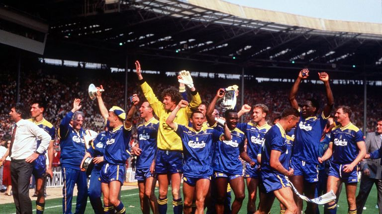 Wimbledon are back at Wembley in the FA Cup for the first time in 30 years