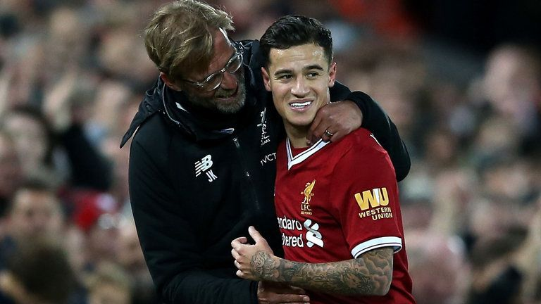 Jurgen Klopp says Philippe Coutinho will not be coming back this summer