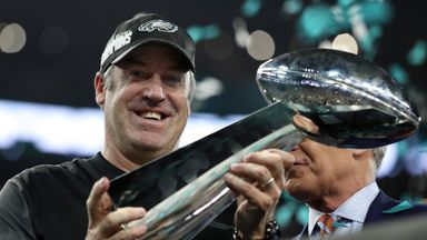 Philadelphia Eagles head coach Doug Pederson