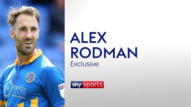 Alex Rodman is dreaming of the Championship with Shrewsbury Town