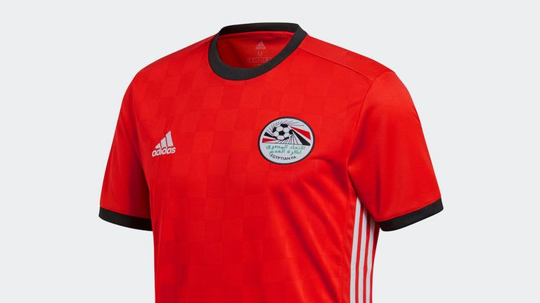 Egypt's home shirt keeps a classic, minimalist design