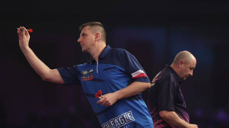 'The Polish Eagle' featured at last year's World Championship but lost in round-one to James Wilson