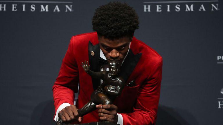 Jackson won the Heisman Trophy in 2016