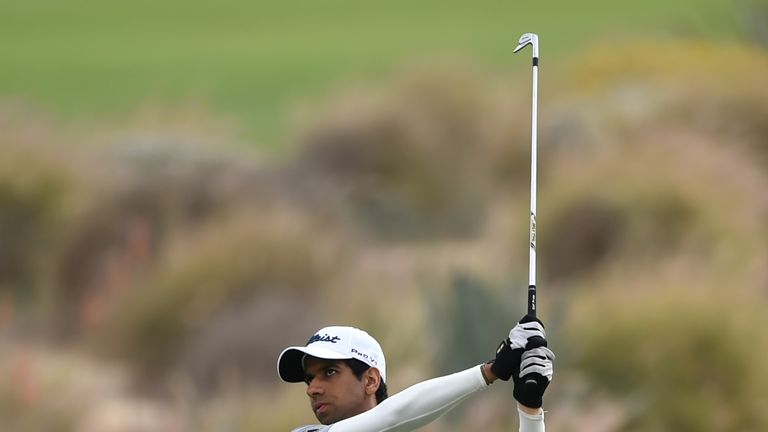 Rai posted five birdes and an eagle during his opening round