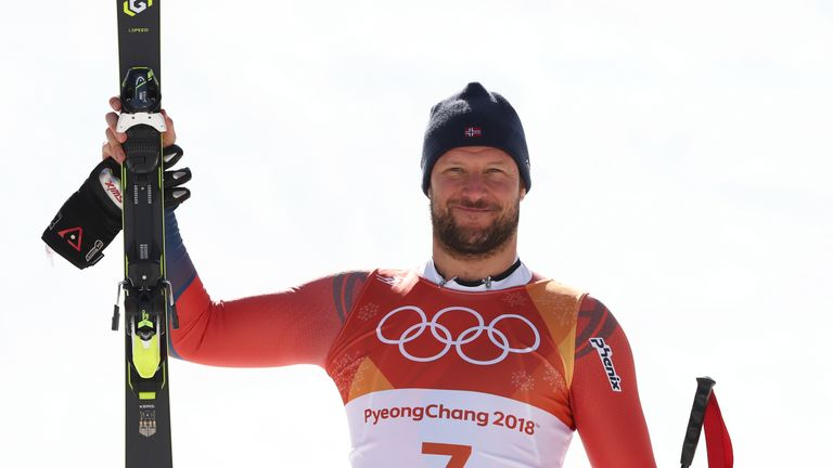 Aksel Lund Svindall is the first Norwegian to take men's downhill gold