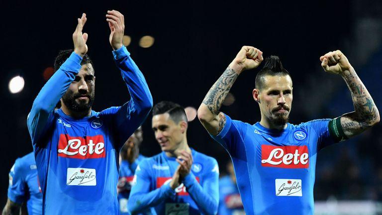 Napoli chairman Aurelio De Laurentiis has reportedly increased Marek Hamsík's asking price to £35m