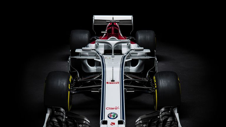 Sauber Unveil First F Car With Alfa Romeo The C For Season - 2018