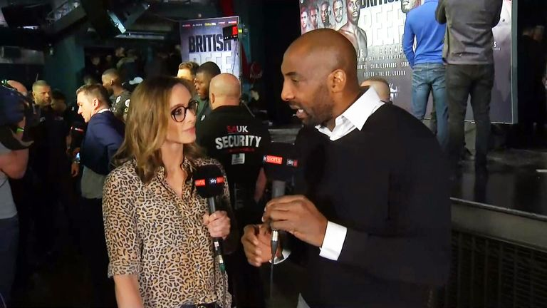 Anna Woolhouse, seen here working with Johnny Nelson Ringside for Sky Sports Boxing, talks about her fears for those who cannot handle online abuse