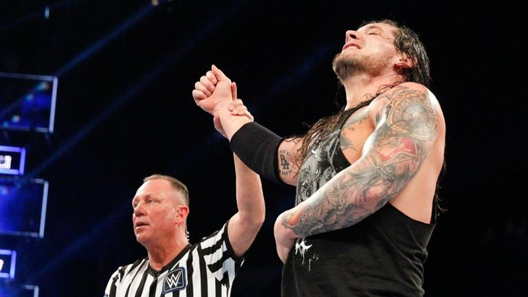 Baron Corbin gets a chance at the WWE title at Fastlane