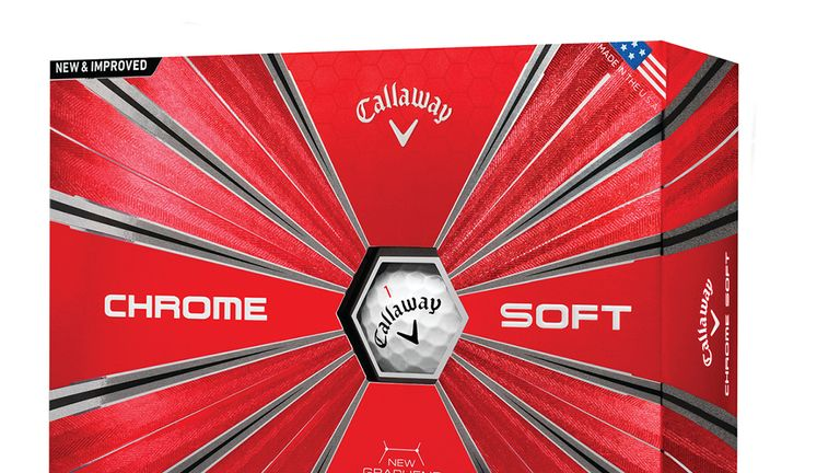 The new Callaway Chrome Soft Golf Ball is on sale now