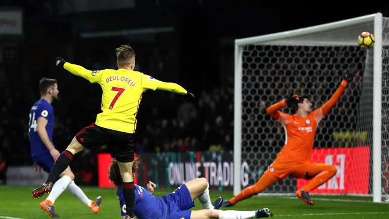 Chelsea were beaten 4-1 by Watford last time out