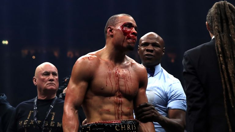 Eubank Jr felt he had done enough to get the decision