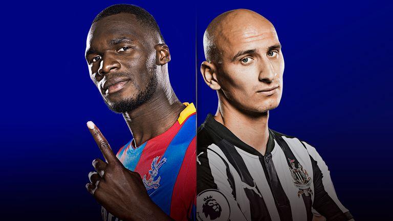 Watch Crystal Palace v Newcastle United live on Super Sunday