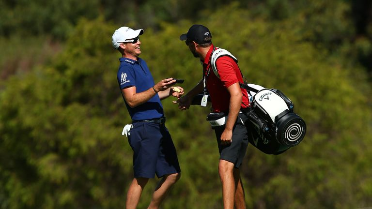 Willett plays alongside Thorbjorn Olesen and Wade Ormsby