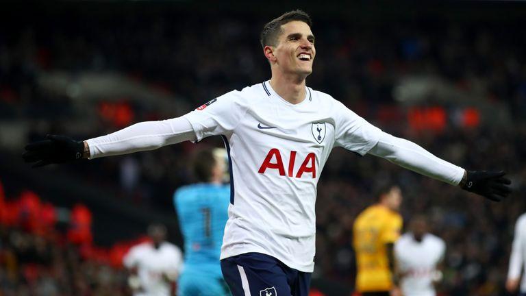 Erik Lamela's new Tottenham contract will run until 2022