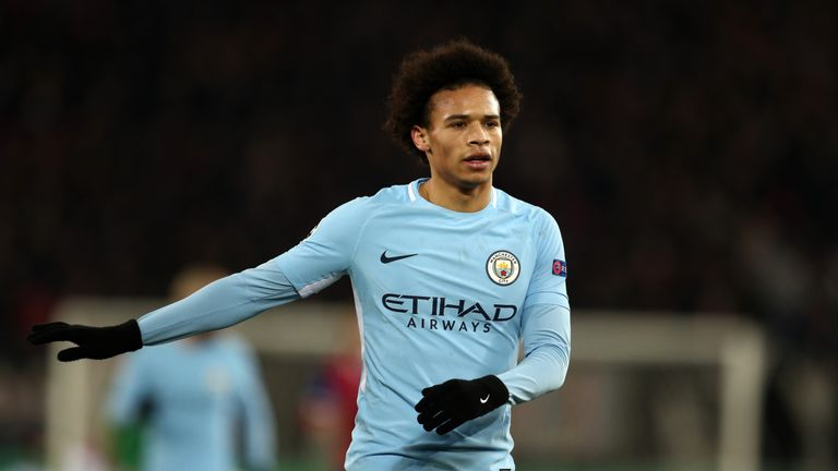 Leroy Sane came off the bench against Basel