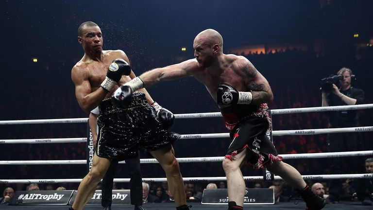 George Groves outpointed Chris Eubank Jr in a gruelling Manchester showdown on Saturday
